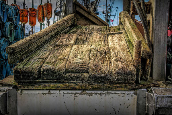 Photograph - Wood Ramp by Bill Posner