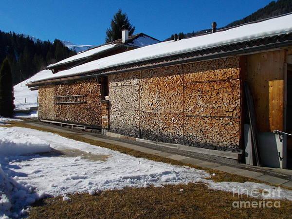 Wall Art - Photograph - Wood Storage by Angelika Heidemann