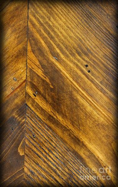 Photograph - Wood Vertical by Karen Adams