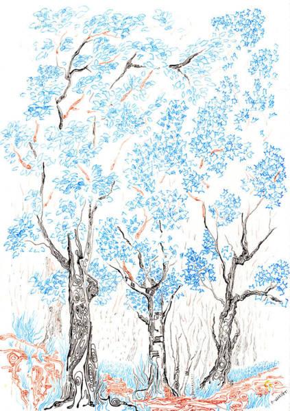 Painting - Wooded Trail by Regina Valluzzi