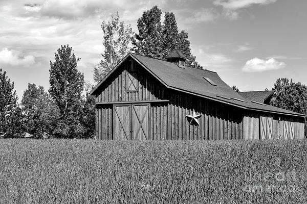 Photograph - Wooden Barn Wall Art by David Millenheft