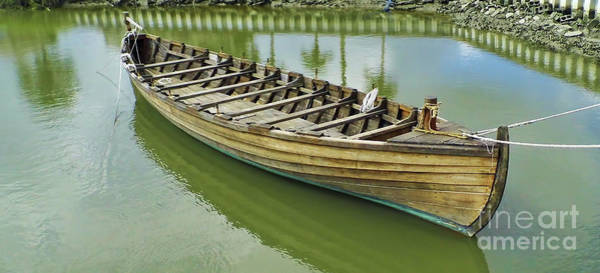 Photograph - Wooden Boat by D Hackett