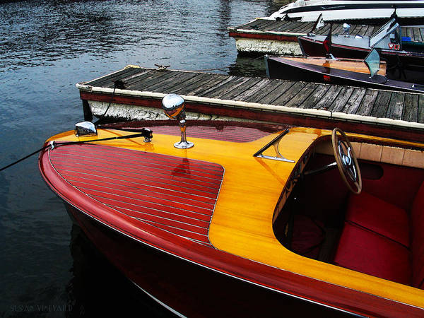 Photograph - Wooden Boatshow by Susan Vineyard