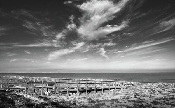 Photograph - Wooden Bridge To The Sea by Gary Gillette