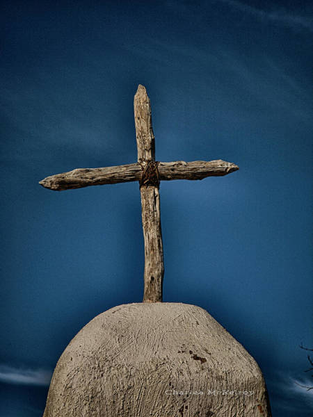 Photograph - Wooden Cross by Charles McKelroy