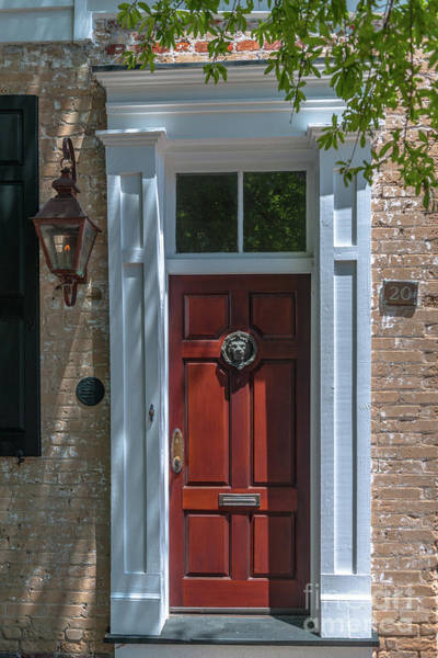 Photograph - Wooden Doors Of Charleston by Dale Powell