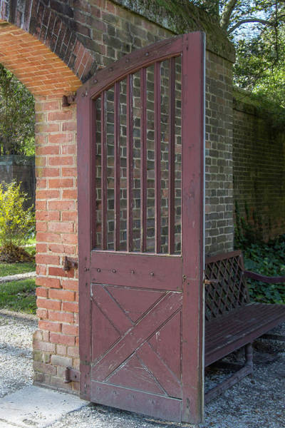 Wall Art - Photograph - Wooden Garden Door by Teresa Mucha