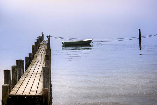 Fishing Line Photograph - Wooden Jetty by Joana Kruse