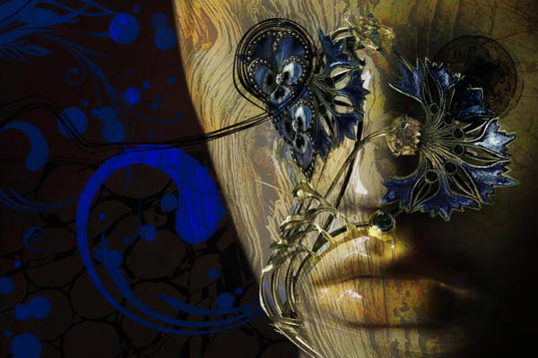 Digital Art - Wooden Man by Richard Ricci