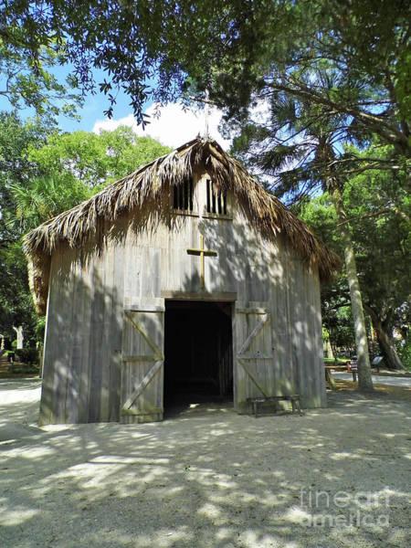 Misson Photograph - Wooden Mission Of Nombre De Dios by D Hackett