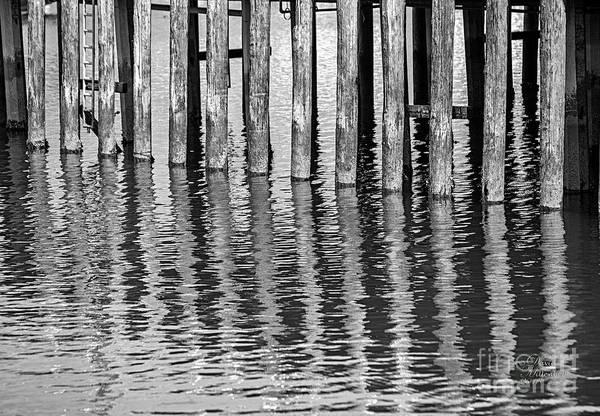 Photograph - Wooden Pier by David Millenheft