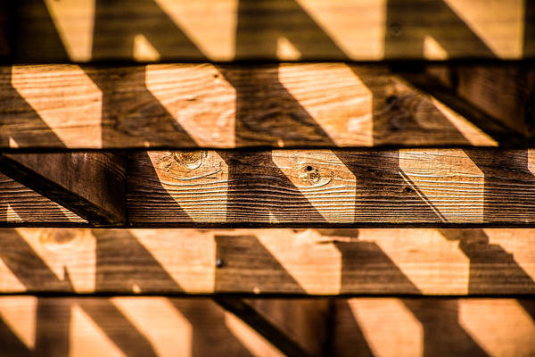 Photograph - Wooden Shadows by  Onyonet  Photo Studios