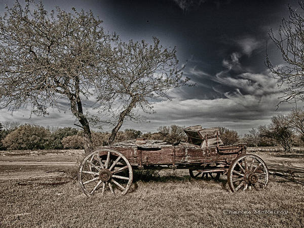 Photograph - Wooden Truck by Charles McKelroy