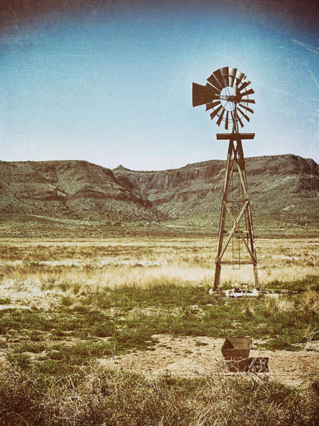 Photograph - Wooden Windmill Art by Charles McKelroy