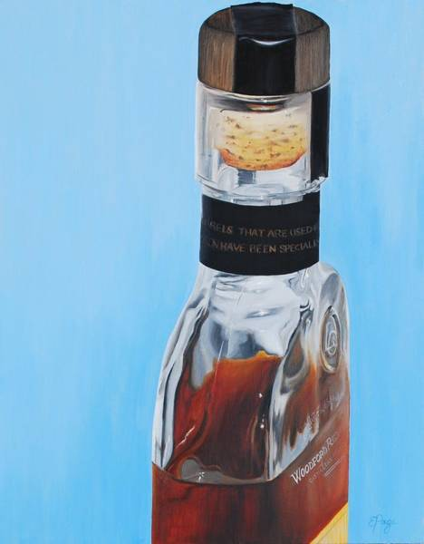 Painting - Woodford Reserve by Emily Page