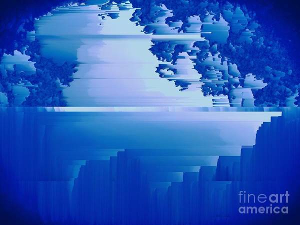 Photograph - Woodland Blue by Jenny Revitz Soper
