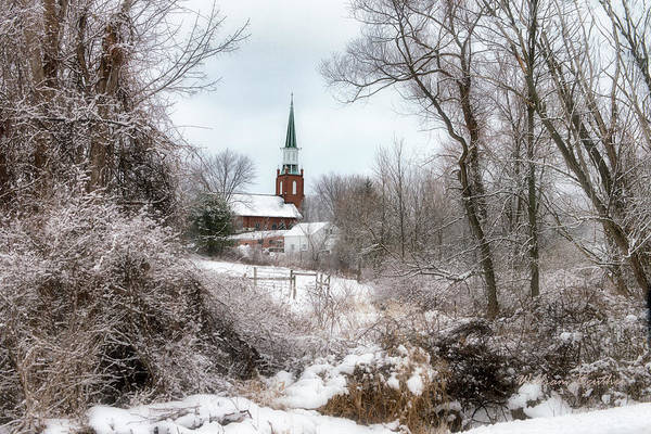 Photograph - Woodland Church by William Beuther