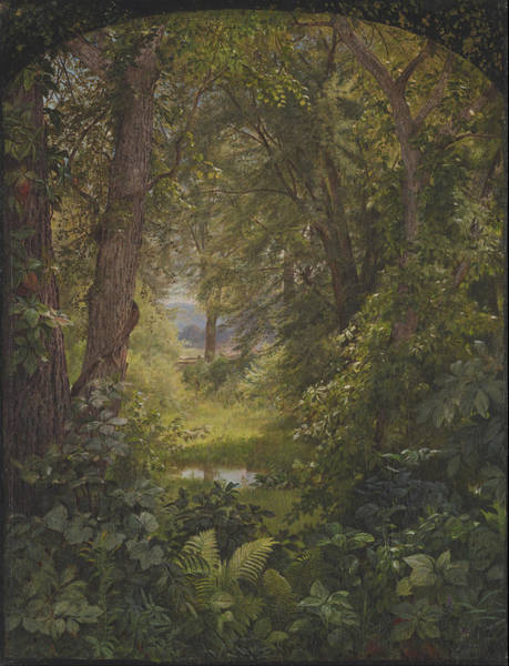 Wall Art - Painting - Woodland Glade  by William Trost Richards