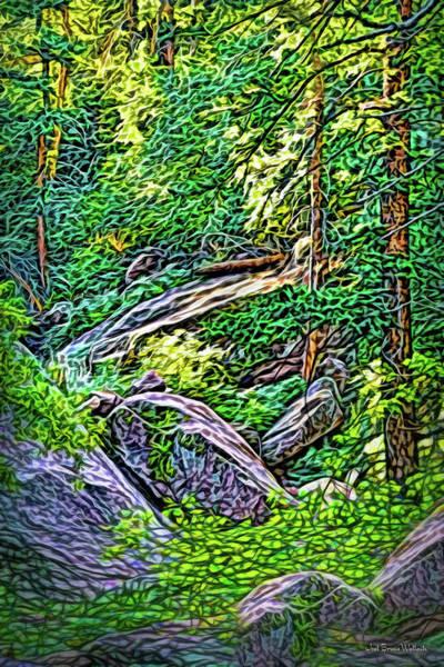 Digital Art - Woodland Grace by Joel Bruce Wallach