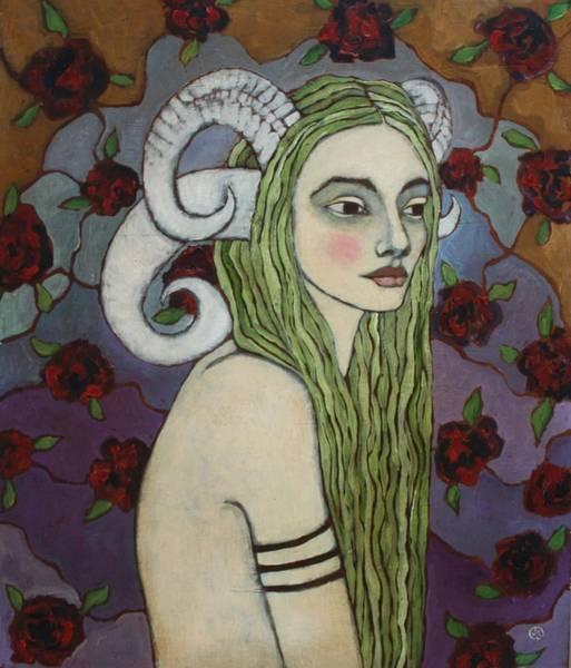 Pagan Wall Art - Painting - Woodland Nymph by Jane Spakowsky