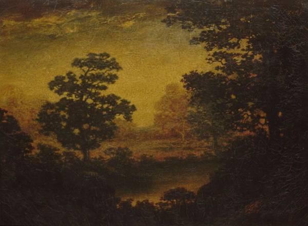 Painting - Woodland Vista Former  Ralph Albert Blakelock  1847  1919 by Artistic Panda