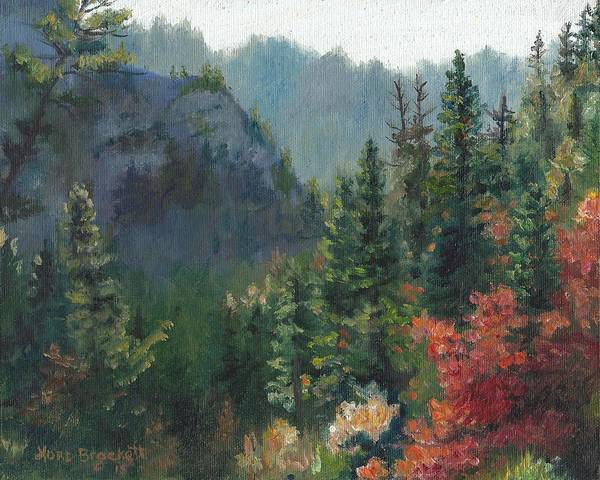Painting - Woodland Wonder by Lori Brackett