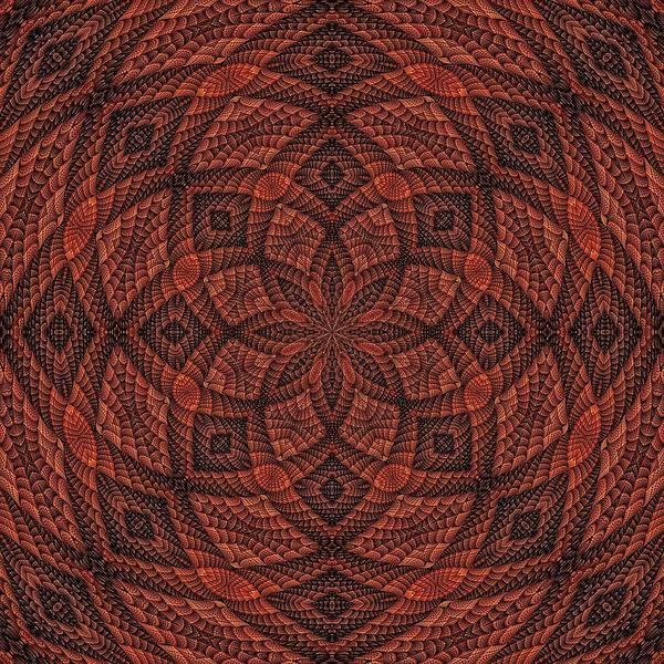 Digital Art - Woodlands Mandala-3 by Doug Morgan