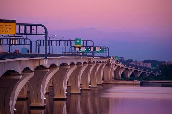 Photograph - Woodrow Wilson Bridge by Buddy Scott