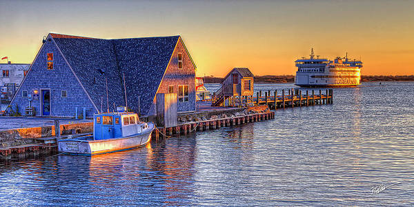 Cape Cod Sunset Photograph - Woods Hole Sunset by Michael Petrizzo