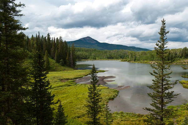Photograph - Wood's Lake Summer Landscape by Cascade Colors