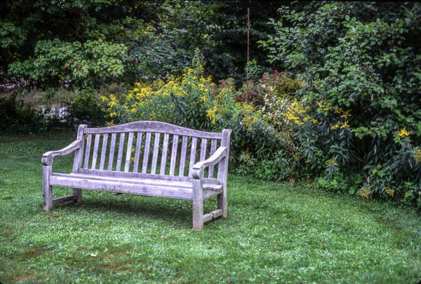 Photograph - Woodstock Bench by Samuel M Purvis III