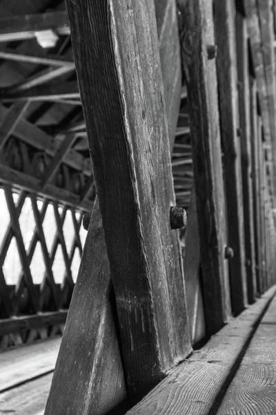 Photograph - Woodstock Covered Bridge by Kristen Wilkinson