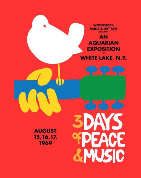 Logos Painting - Woodstock by Gary Grayson