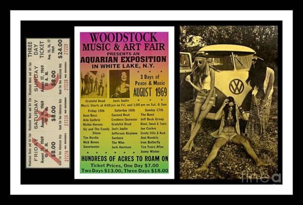 Wall Art - Photograph - Woodstock Memorabilia by Pd
