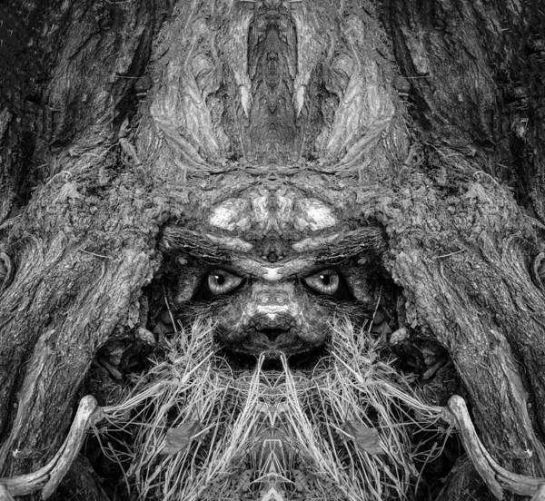 Digital Art - Woody 173 Bw by Rick Mosher