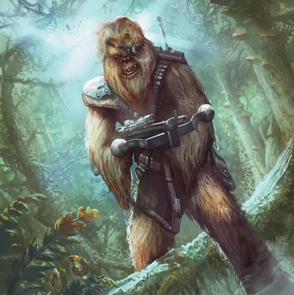 Wall Art - Digital Art - Wookiee Guerrilla by Ryan Barger