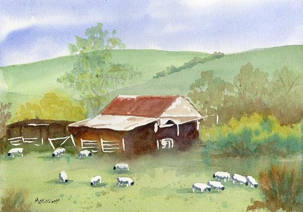 Wall Art - Painting - Woolies by Marsha Elliott
