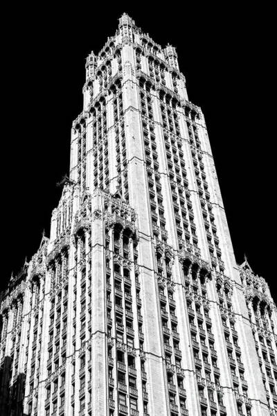 Photograph - Woolworth Building 2006 by John Rizzuto