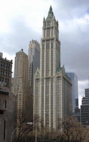 Photograph - Woolworth Building by Frank Winters