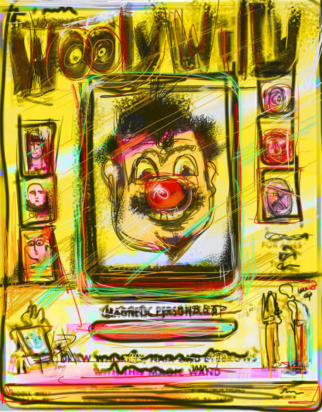 Toy Mixed Media - Wooly Willy by Russell Pierce
