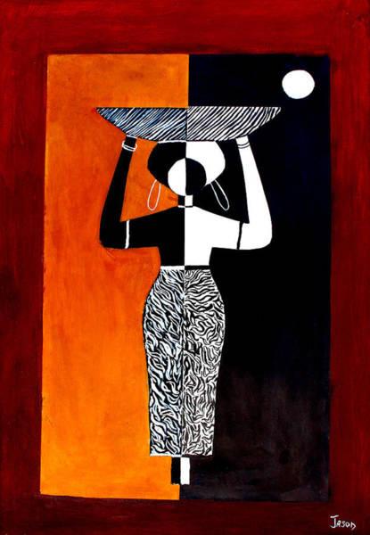 Painting - Work That Counts by Ninkhambazi