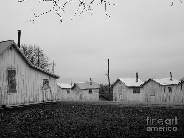 Photograph - Workers Houses by Marie Neder