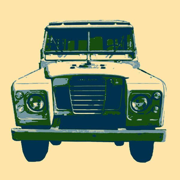 Photograph - Workhorse - Land Rover Series IIi by Richard Reeve