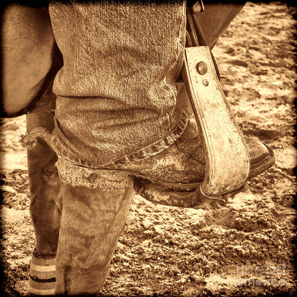 Photograph - Working Boot by American West Legend By Olivier Le Queinec