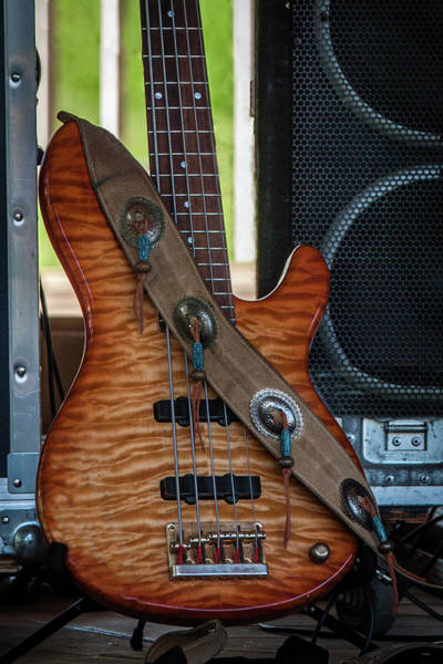 Wall Art - Photograph - Working Guitar by Mike Burgquist