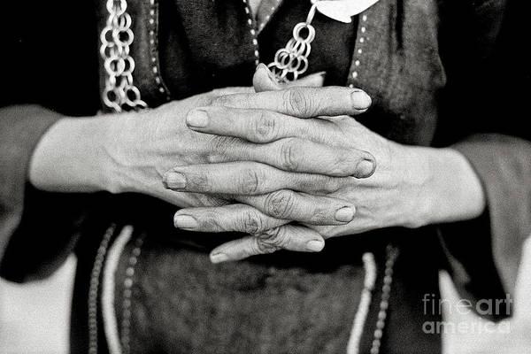 Photograph - Working Hands by Silva Wischeropp