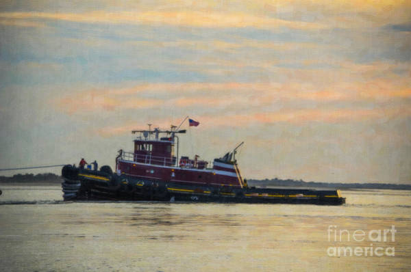 Photograph - Southern Tug  by Dale Powell