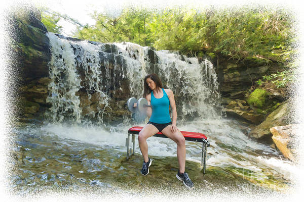 Photograph - Working Out In Cool Mountain Stream by Dan Friend