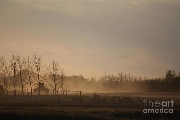 Photograph - Working The Field by Wilko Van de Kamp