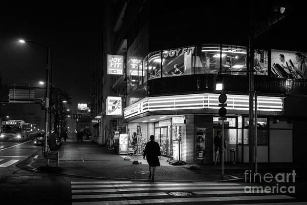 Art Print featuring the photograph Workout The Night, Tokyo Japan by Perry Rodriguez